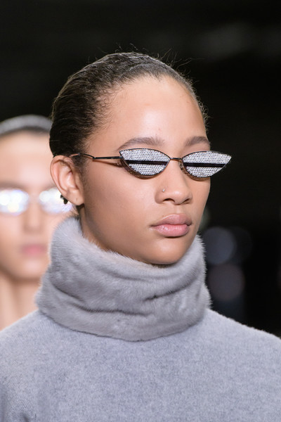Alexander Wang at New York Fall 2018 (Details) [eyewear,hair,glasses,face,eyebrow,lip,sunglasses,fashion,hairstyle,chin,sunglasses,alexander wang,fashion,glasses,fashion week,beauty,haute couture,face,eyebrow,new york fashion week,fashion,sunglasses,alexander wang,fashion week,beauty,givenchy,haute couture,glasses]
