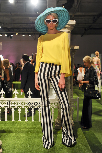 Alice + Olivia at New York Spring 2012