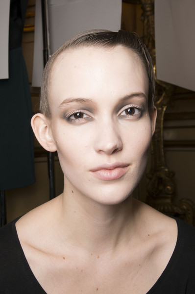 Amaya Arzuaga at Paris Fall 2013 (Backstage)