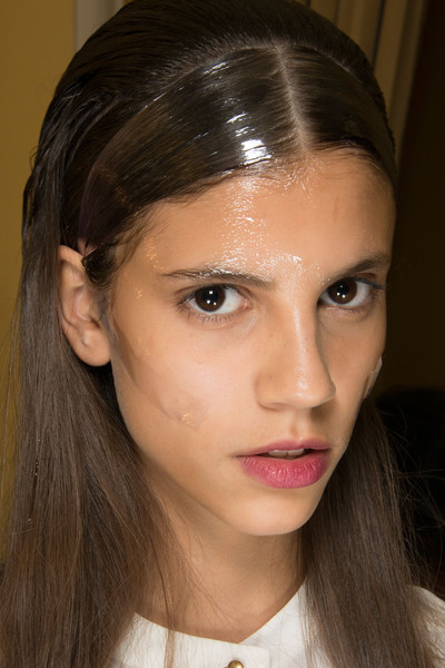 Amaya Arzuaga at Paris Spring 2013 (Backstage)