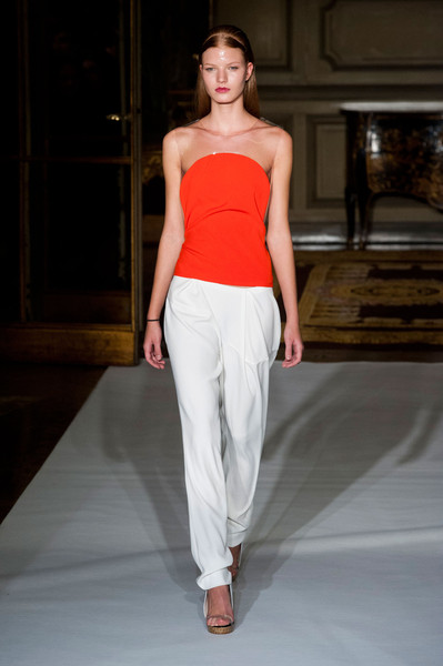 Amaya Arzuaga at Paris Spring 2013