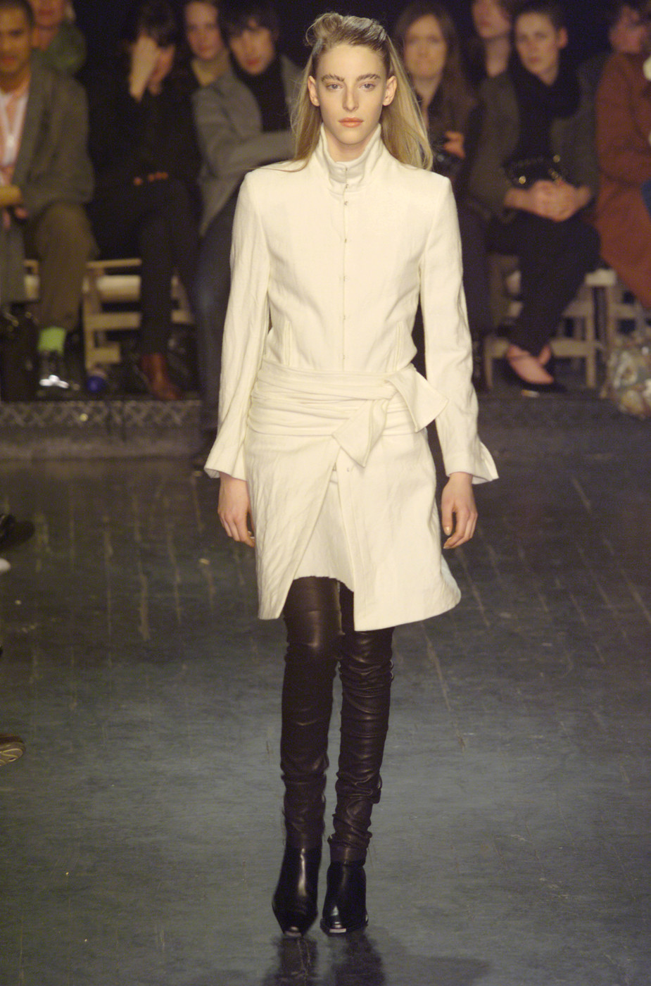 Ann Demeulemeester At Paris Fashion Week Fall 2001 Livingly