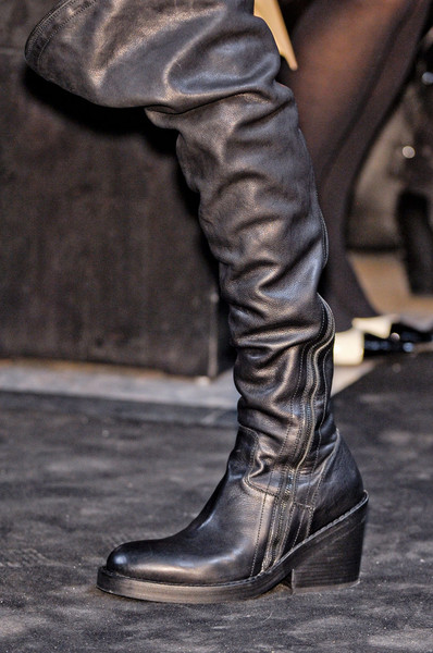 Ann Demeulemeester at Paris Fall 2012 (Details) [footwear,boot,shoe,riding boot,fashion,motorcycle boot,leg,knee-high boot,joint,leather,shoe,shoe,footwear,ann demeulemeester,boot,riding boot,leg,equestrianism,boot,paris fashion week,riding boot,shoe,high-heeled shoe,boot,equestrianism,leg]