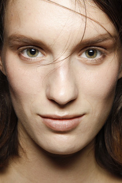 Ann-Sofie Back at London Spring 2012 (Backstage)