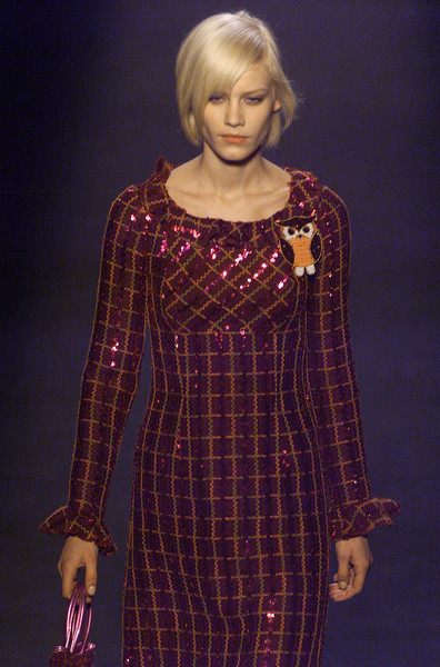 Anna Sui at New York Fall 2001