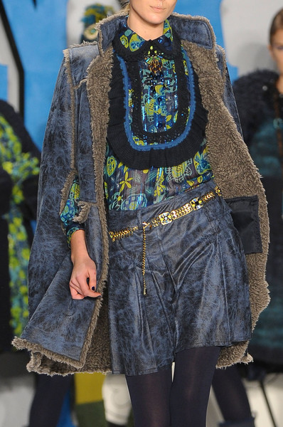 Anna Sui at New York Fall 2012 (Details)