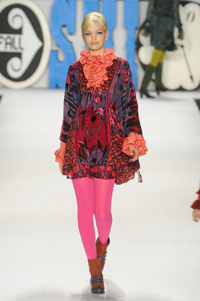 Anna Sui at New York Fall 2012