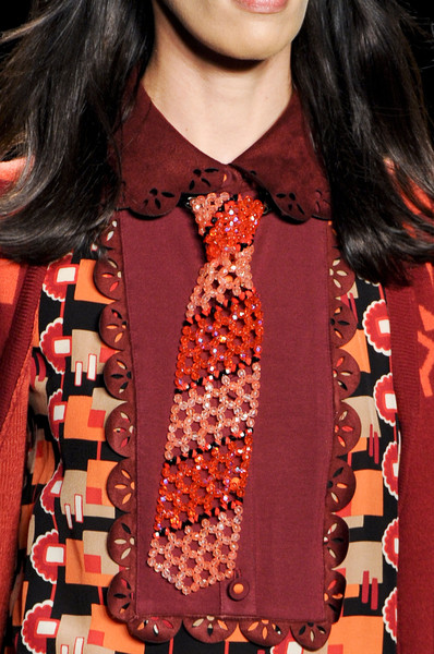 Anna Sui at New York Fall 2013 (Details)