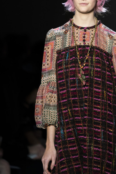 Anna Sui at New York Fall 2019 (Details)