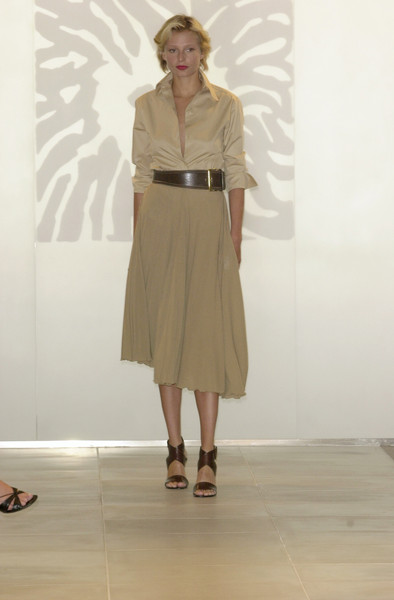 Anne Klein at New York Spring 2002