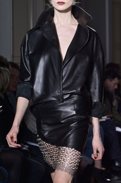 Anthony Vaccarello at Paris Fall 2013 (Details)