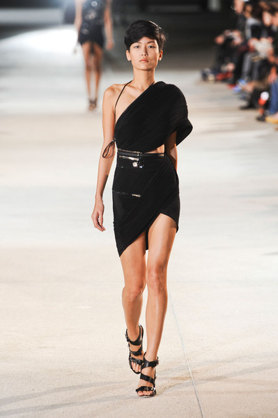 Anthony Vaccarello at Paris Spring 2013