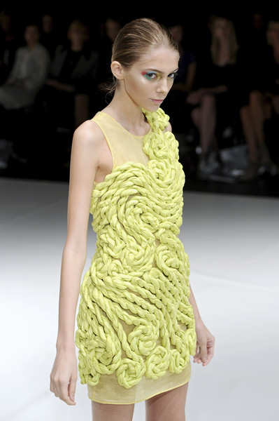 Ashley Isham at London Spring 2009