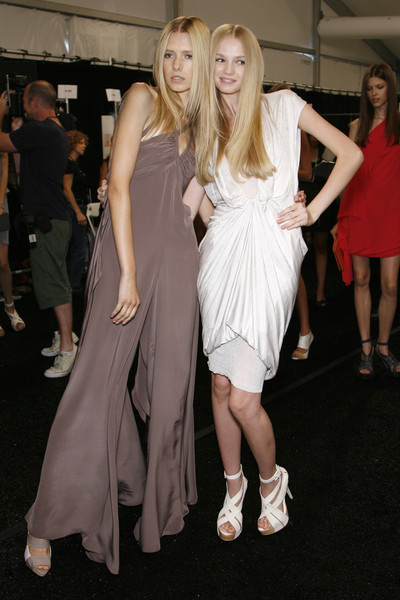 BCBG Max Azria at New York Spring 2009 (Backstage)