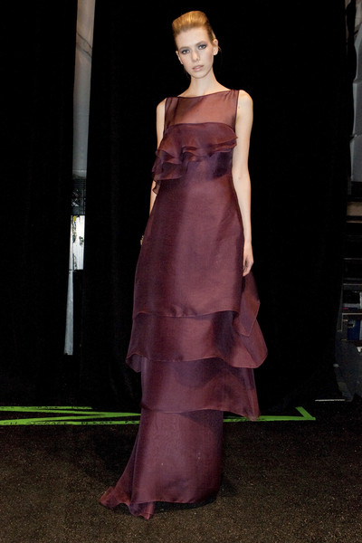 Badgley Mischka at New York Fall 2009 (Backstage)