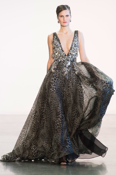 Badgley Mischka at New York Fashion Week Fall 2018