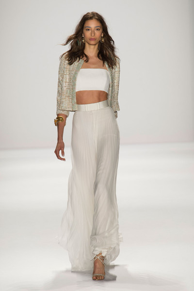 Badgley Mischka at New York Spring 2015