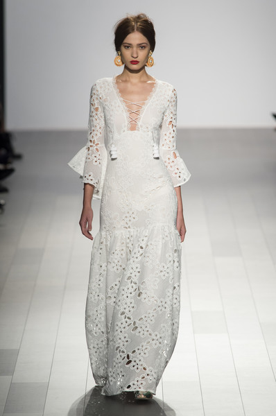 Badgley Mischka at New York Spring 2018 [fashion model,fashion,clothing,dress,fashion show,runway,gown,haute couture,neck,wedding dress,dress,wedding dress,fashion,runway,haute couture,clothing,model,fashion design,new york fashion week,fashion show,wedding dress,fashion show,runway,fashion,dress,ready-to-wear,clothing,model,fashion design,haute couture]
