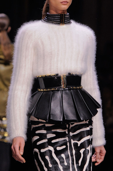 Balmain at Paris Fall 2014 (Details)