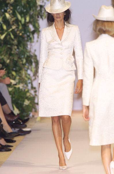 Balmain at Couture Spring 2001 [couture spring 2001,clothing,fashion model,white,fashion,dress,fashion show,runway,haute couture,hat,headgear,runway,fashion,haute couture,model,wedding dress,spring,fashion model,balmain,fashion show,fashion show,runway,balmain,fashion,haute couture,model,wedding dress,supermodel,spring]