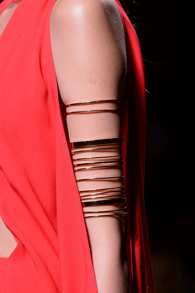 Balmain at Paris Spring 2017 (Details) [clothing,red,shoulder,dress,fashion,haute couture,cocktail dress,satin,outerwear,neck,jewellery,cocktail dress,supermodel,fashion,haute couture,model,clothing,red,balmain,paris fashion week,fashion,haute couture,jewellery,model,balmain,supermodel,fiercely beautiful,al jamila]
