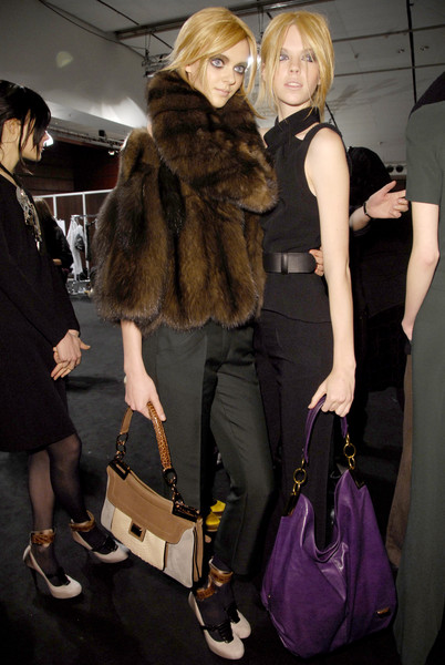 Barbara Bui at Paris Fall 2008 (Backstage)