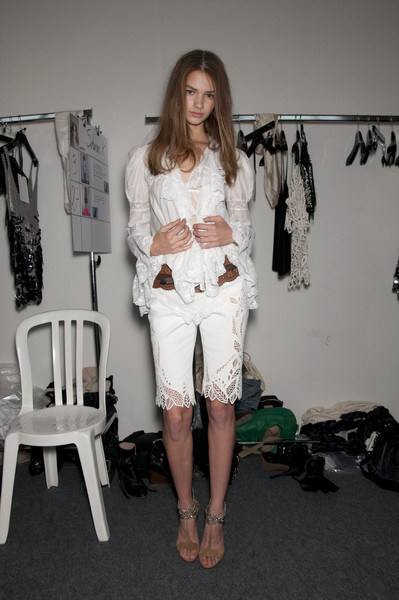 Barbara Bui at Paris Spring 2010 (Backstage)