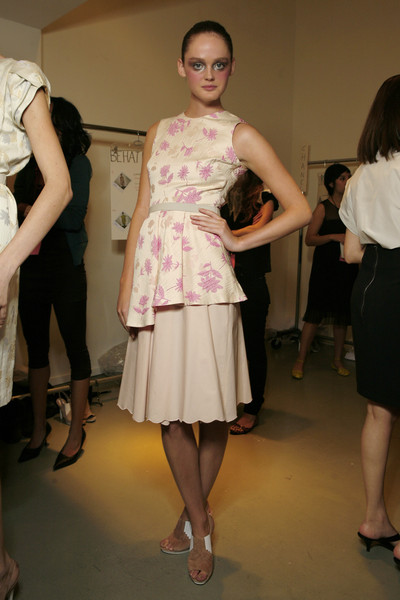 Behnaz Sarafpour at New York Spring 2009 (Backstage)