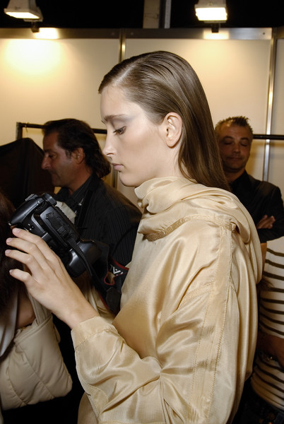 Belstaff at Milan Spring 2008 (Backstage)