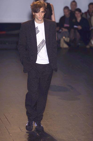 Bernhard Willhelm at Paris Spring 2001
