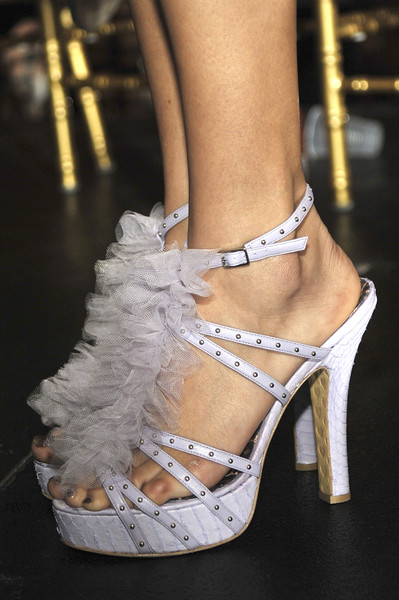 Betsey Johnson at New York Spring 2010 (Details)