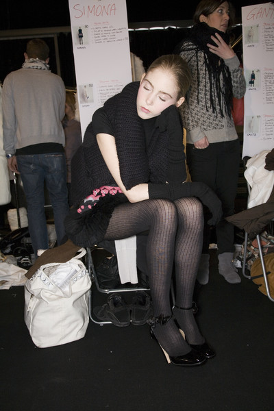 Blugirl at Milan Fall 2008 (Backstage)