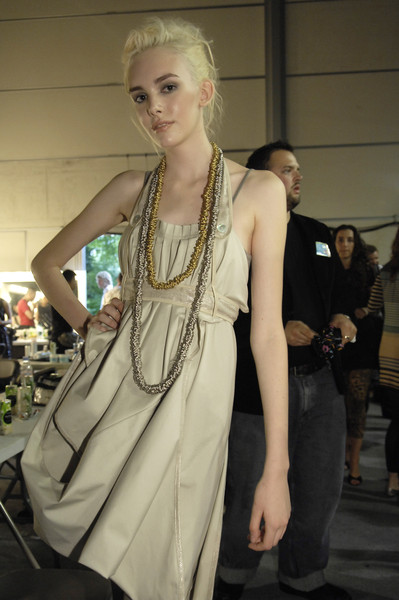 Bora Aksu at London Spring 2007 (Backstage)