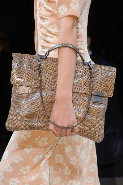 Bottega Veneta at Milan Spring 2013 (Details)
