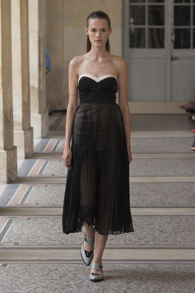 Bouchra Jarrar at Couture Fall 2015