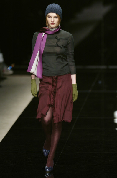 Burberry Prorsum at Milan Fall 2004