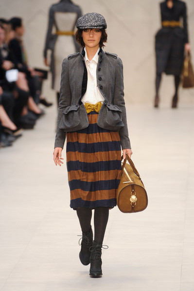Burberry Prorsum at London Fall 2012