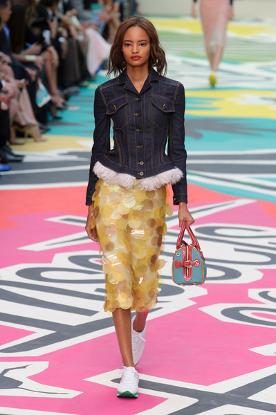 Burberry Prorsum at London Spring 2015