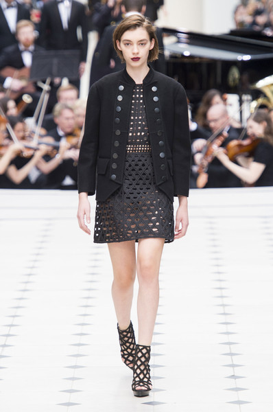 Burberry Prorsum at London Spring 2016