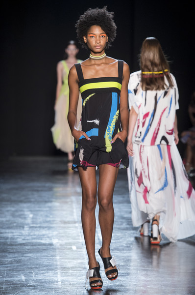 low priced 216ad bcd7d Byblos Milano at Milan Fashion Week Spring 2018 - Livingly