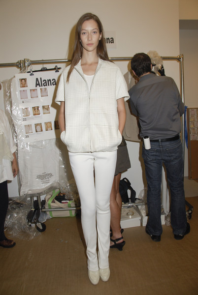 Calvin Klein at New York Spring 2008 (Backstage)