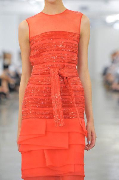 Carmen Marc Valvo at New York Spring 2013 (Details)
