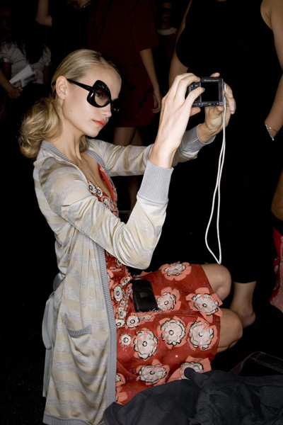Carolina Herrera at New York Spring 2008 (Backstage)
