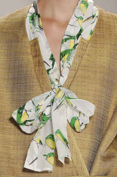 Carolina Herrera at New York Spring 2012 (Details)
