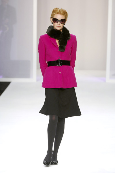 Caroline Charles at London Fall 2008