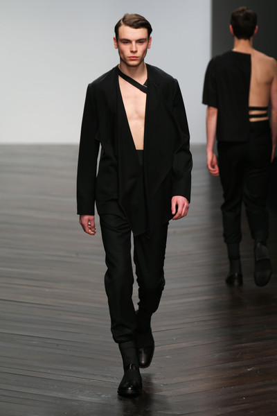 Central Saint Martins MA - Hampus Berggren at London Fall 2013