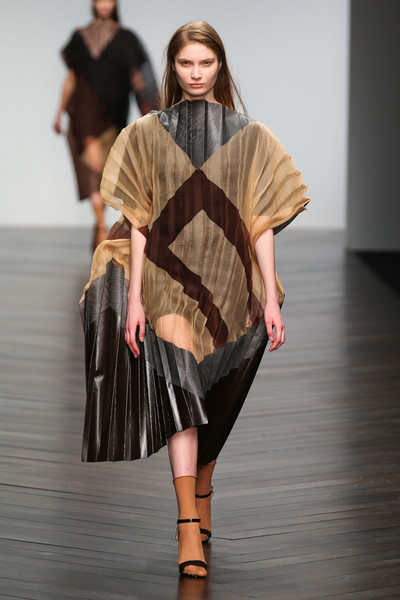 Central Saint Martins MA - Jessica Fawcett at London Fall 2013