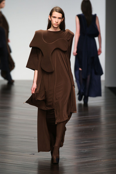 Central Saint Martins MA - Toma Stenko at London Fall 2013