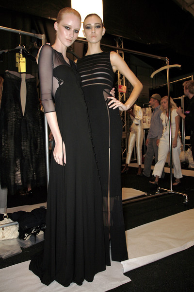 Chado Ralph Rucci at New York Spring 2009 (Backstage)