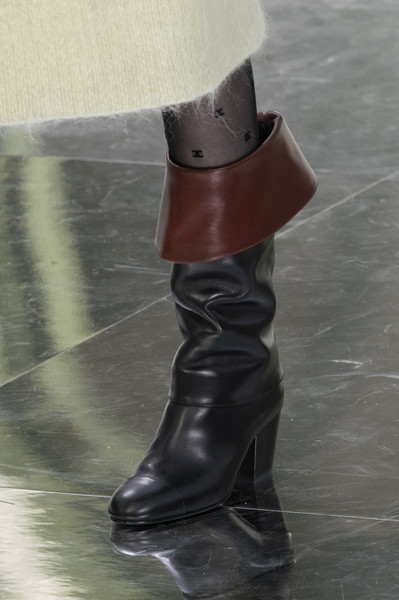 Chanel at Paris Fall 2020 (Details) [stock photography,footwear,boot,riding boot,shoe,brown,fashion,joint,knee-high boot,leg,high heels,footwear,fashion,fashion week,boot,photography,runway,vogue,chanel,paris fashion week,paris fashion week,chanel,fashion,fashion week,stock photography,runway,autumn,photography,vogue]